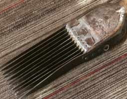 comb for hand knotted rug making